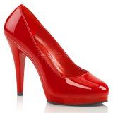 Rouge Verni 11,5 cm FLAIR-480 escarpins femme pour homme