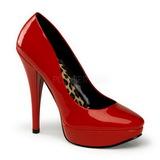 Rouge Verni 13,5 cm HARLOW-01 Talons Hauts Escarpins Femme