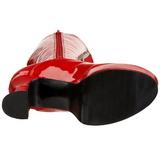 Rouge Verni 13 cm ELECTRA-2020 Plateforme Bottes Femmes