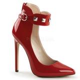 Rouge Verni 13 cm SEXY-31 Chaussures Escarpins Classiques