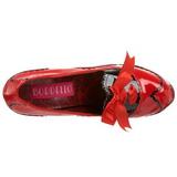 Rouge Verni 14,5 cm Burlesque BORDELLO TEEZE-01 Escarpins Haut Talon