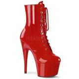 Rouge Verni 18 cm ADORE-1020 bottines plateforme pour femmes