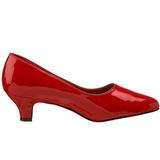 Rouge Verni 5 cm FAB-420W escarpins à talons hauts