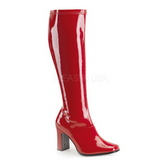 Rouge Verni 9,5 cm FUNTASMA KIKI-350 Bottes Femmes