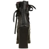 Similicuir 10 cm DEMONIA CRYPTO-51 plateforme bottines femmes
