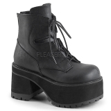 Similicuir 10 cm Demonia RANGER-102 bottines plateforme gothique