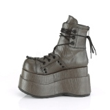 Similicuir 11,5 cm Demonia BEAR-120 bottines plateforme gothique