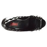 Similicuir 13,5 cm PIXIE-18 chaussures escarpins bout ouvert