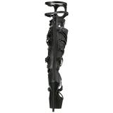 Similicuir 15 cm DELIGHT-600-50 bottes gladiateur femmes a talon