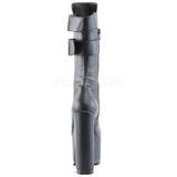 Similicuir 16 cm CRAMPS-202 plateformes bottes à boucles pour femmes