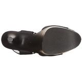 Similicuir 20 cm FLAMINGO-800-14 Plateforme Chaussures Talon Haut