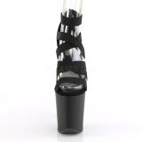 Similicuir 20 cm FLAMINGO-859 Plateforme Chaussures Talon Haut