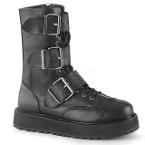 Similicuir 3,5 cm VALOR-210 Bottines Plateforme Hommes