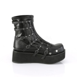 Similicuir 5,5 cm SPRITE-100 bottines demonia plateforme