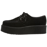 Similicuir 5 cm CREEPER-502S Chaussures Creepers Hommes Plateforme