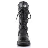 Similicuir 5 cm DMA-3005 Bottes Gothiques Hommes Plateforme