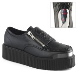 Similicuir 5 cm V-CREEPER-510 Chaussures Creepers Hommes Plateforme