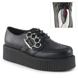 Similicuir 5 cm V-CREEPER-516 Chaussures Creepers Hommes