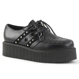 Similicuir 5 cm V-CREEPER-538 Chaussures Creepers Hommes Plateforme