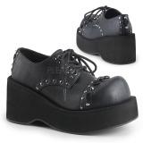 Similicuir 8 cm DANK-110 chaussures lolita gothique plateforme
