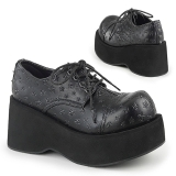 Similicuir 8 cm DANK-111 chaussures lolita gothique plateforme