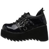 Similicuir 8 cm SCENE-31 chaussures lolita gothique plateforme