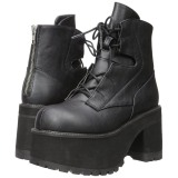 Similicuir 9,5 cm Demonia RANGER-102 bottines plateforme gothique