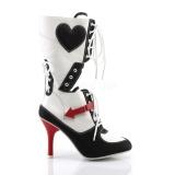 Similicuir 9,5 cm REFEREE-200 bottes cosplay femmes