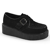 Similicuir CREEPER-118 Chaussures Creepers Femmes Plateforme