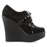 Similicuir CREEPER-302H chaussures creepers compensées