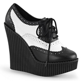 Similicuir CREEPER-307 chaussures creepers compensées