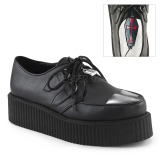 Similicuir V-CREEPER-515 Chaussures Creepers Hommes Plateforme
