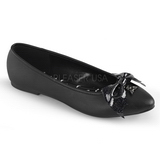 Similicuir VAIL-01 chaussures ballerines femmes plates