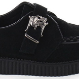 Suede 2,5 cm CREEPER-605 Chaussures Creepers Hommes Plateforme
