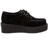 Suede 5 cm CREEPER-101 chaussures creepers femmes semelles épaisses