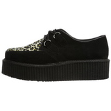 Suede 5 cm CREEPER-400 Chaussures Creepers Hommes Plateforme
