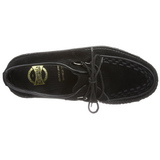 Suede 5 cm CREEPER-402S Chaussures Creepers Hommes Plateforme