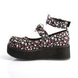 Tissus de lin 6 cm SPRITE-02 plateforme chaussures lolita