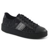 Toile 4 cm SNEEKER-106 Chaussures sneakers creepers hommes