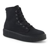 Toile 4 cm SNEEKER-201 Chaussures sneakers creepers hommes