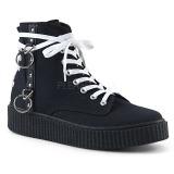 Toile 4 cm SNEEKER-256 Chaussures sneakers creepers hommes