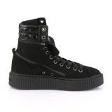 Toile 4 cm SNEEKER-270 Chaussures sneakers creepers hommes