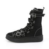 Toile 4 cm SNEEKER-318 Chaussures sneakers creepers hommes