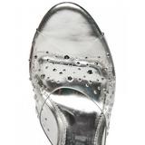 Transparent 10,5 cm LOVELY-401RS Mules Talons Compensées