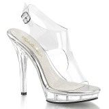 Transparent 13 cm LIP-107 Chaussures pour femmes a talon