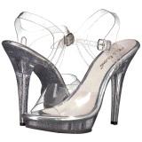 Transparent 13 cm LIP-108MG Chaussures pour femmes a talon