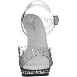 Transparent 13 cm LIP-108RS chaussure competition bikini fitness talons hauts
