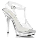 Transparent 13 cm LIP-118 Chaussures pour femmes a talon