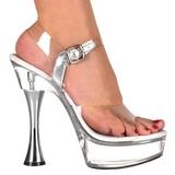 Transparent 14 cm SWEET-408 Chaussures pour femmes a talon