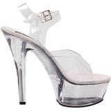 Transparent 15 cm BROOK-208 Chaussures pour femmes a talon